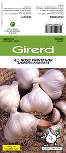 graines semis ail rose de printemps printanor sce certifi e filet 500 g. Black Bedroom Furniture Sets. Home Design Ideas