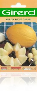 graines semis melon jaune canari sachet g ant 6 g. Black Bedroom Furniture Sets. Home Design Ideas